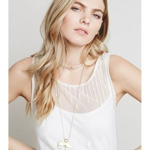 Free People Dresses - Free People Troy Dress in Antique White - Lace
